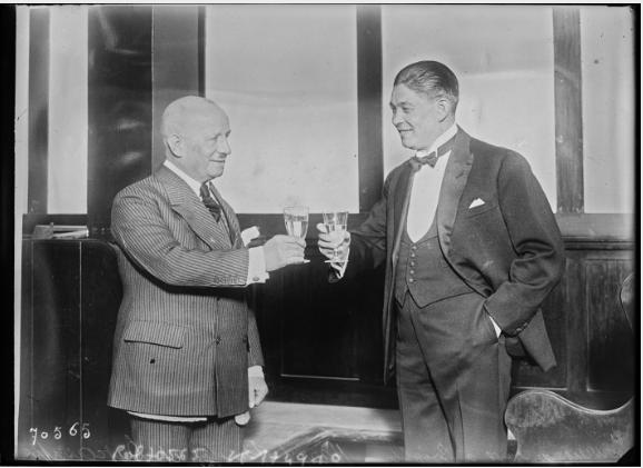 Carpentier manager 1921