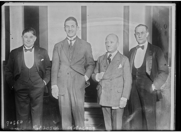 carpentier, preston and Deschamps 1921