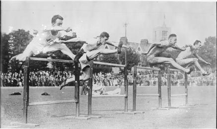 100 metre hurdle