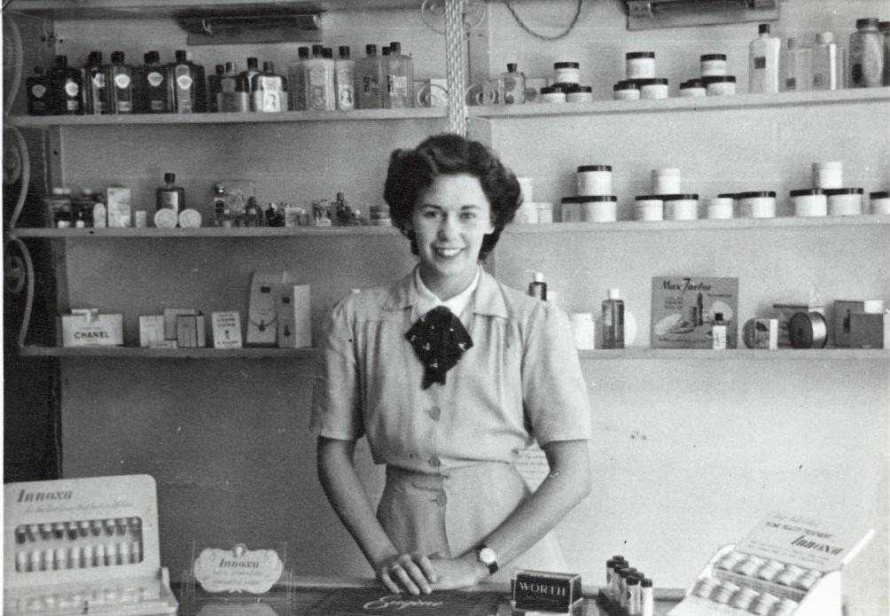 Mum at work 1951 lower quality