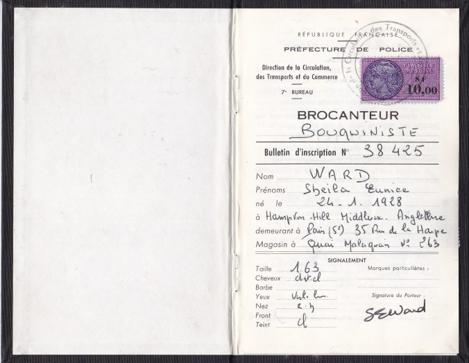 Bouquiniste licence