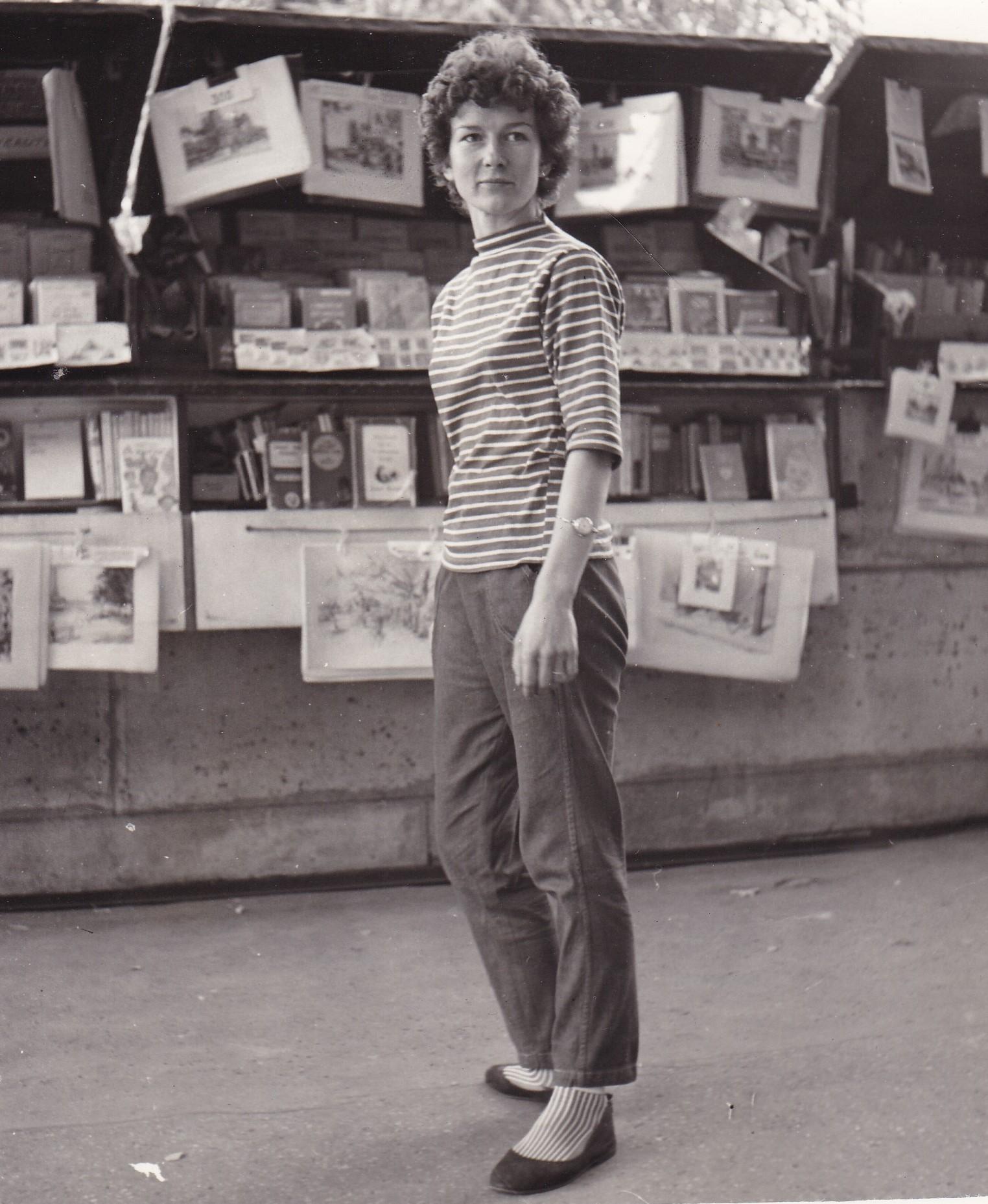 Sally with bookstall 1a