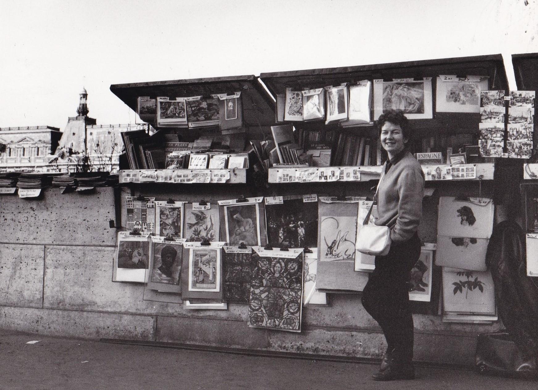 Sally with bookstall 6b