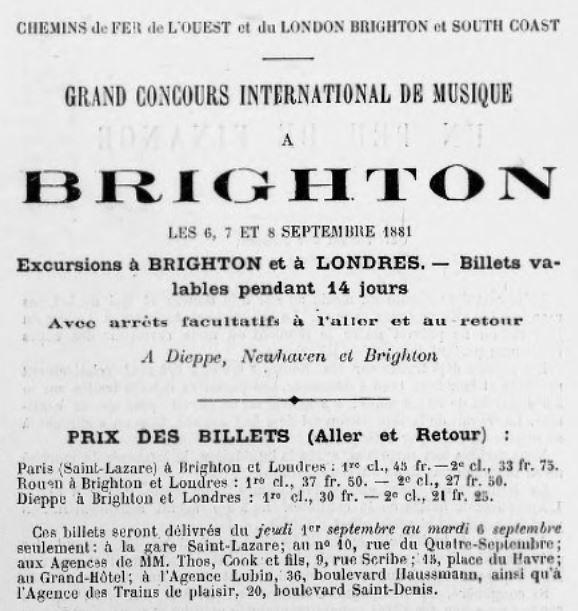 Chemins de fer de l'ouest 1881