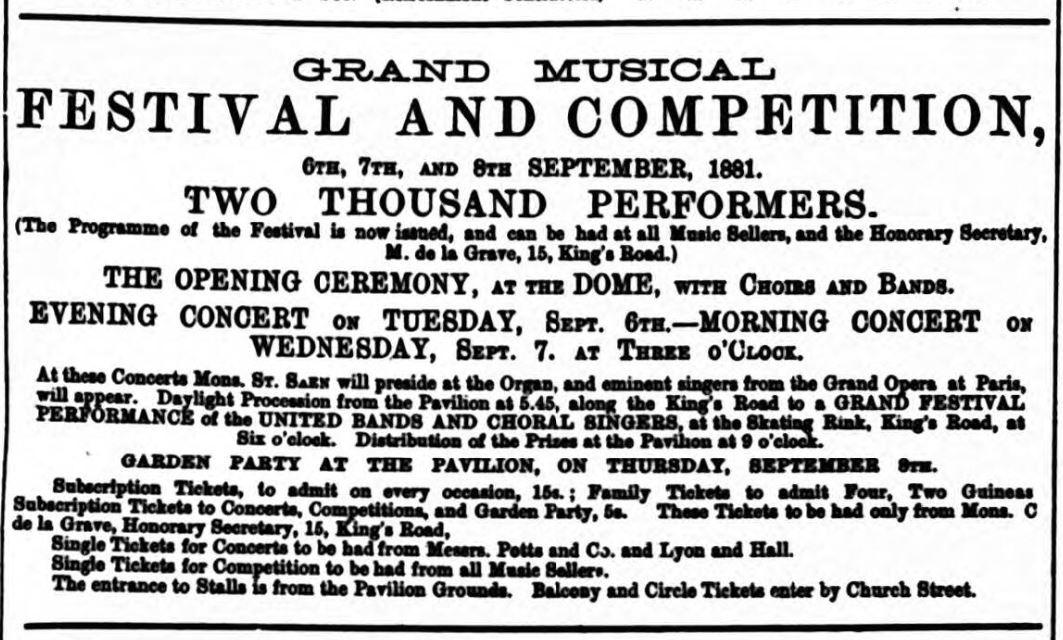 Grand festival of music