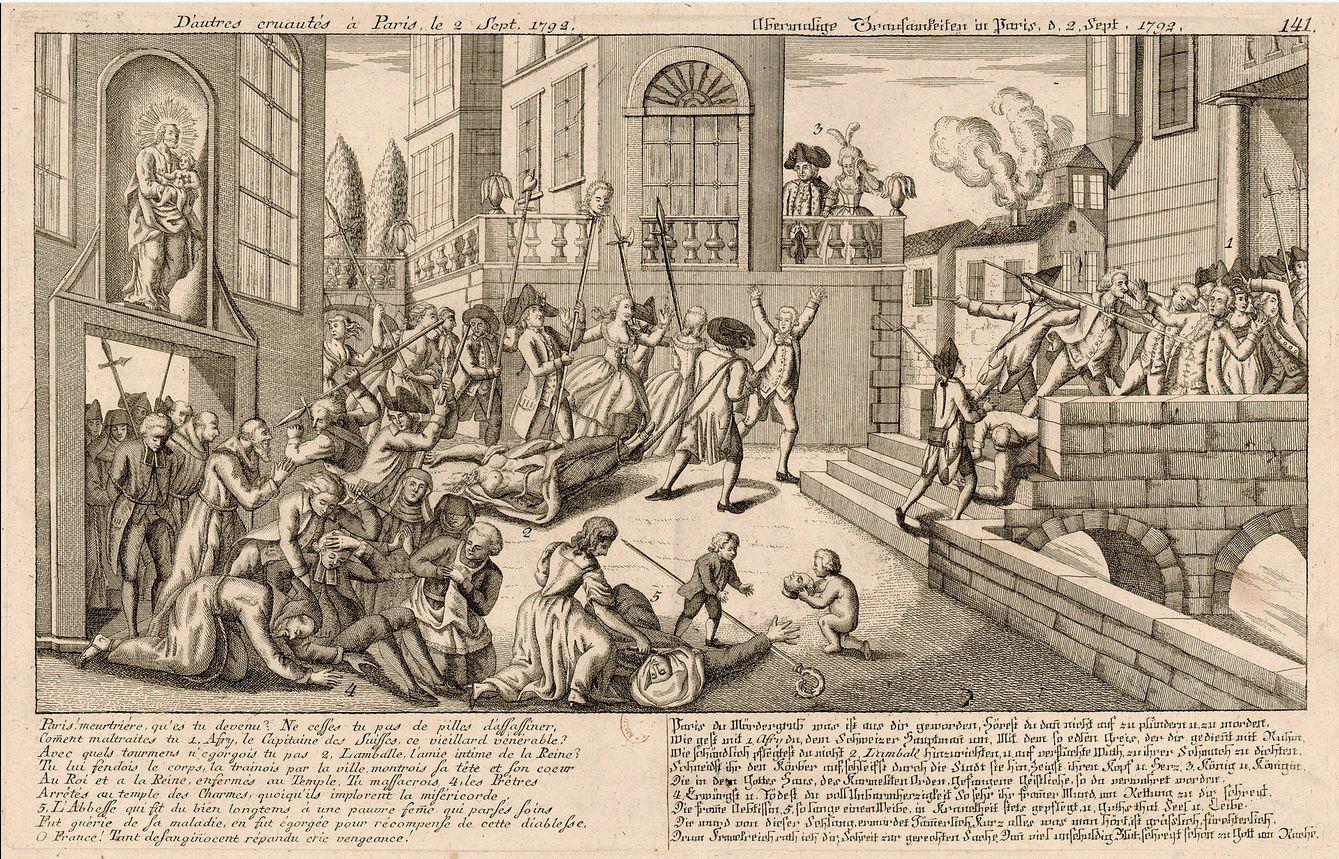 Mort de la princess de Lamballe
